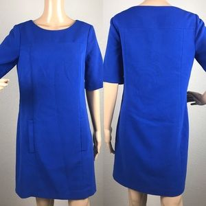 The limited blue dress with pockets sz 4